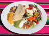 Vegetable Fajita platter